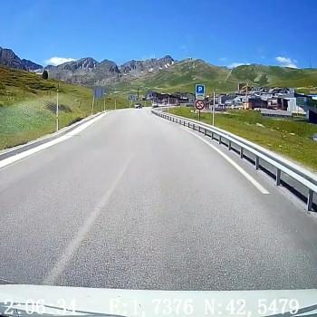 Timelapse Roadtrip : Palau de Cerdagne (66) direction Pas de la Case (Andorre)