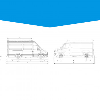 Guide : Dimensions et informations technique Iveco Daily