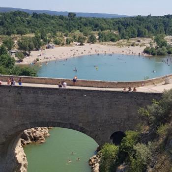 Découverte du pont du diable, au pied des gorges de l'Hérault